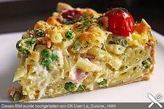 Schnelle Makkaroni-Quiche, ein leckeres Rezept aus der Kategorie Pasta. Bewertungen: 47. Durchschnitt: Ø 4,2.