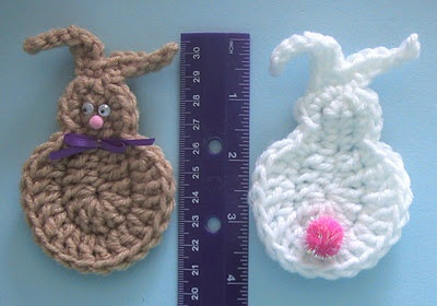 Free Crochet Pattern For Bunny Pin : 59 best images about Free Crochet Easter Patterns on ...