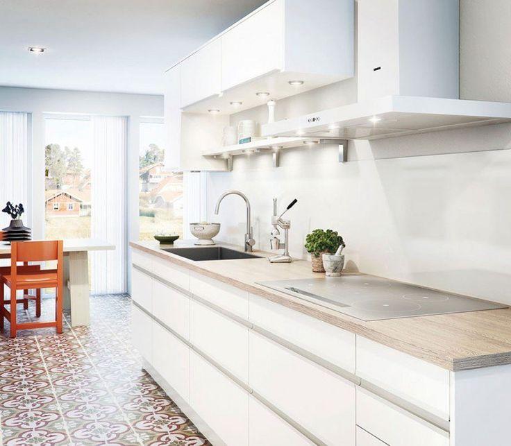 les 25 meilleures id es concernant cuisine en longueur sur pinterest table de travail cuisine. Black Bedroom Furniture Sets. Home Design Ideas
