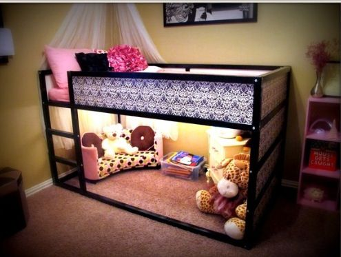 Bunk bed ideas for a small room woodworking projects plans - Beautiful bunk bed teens ...
