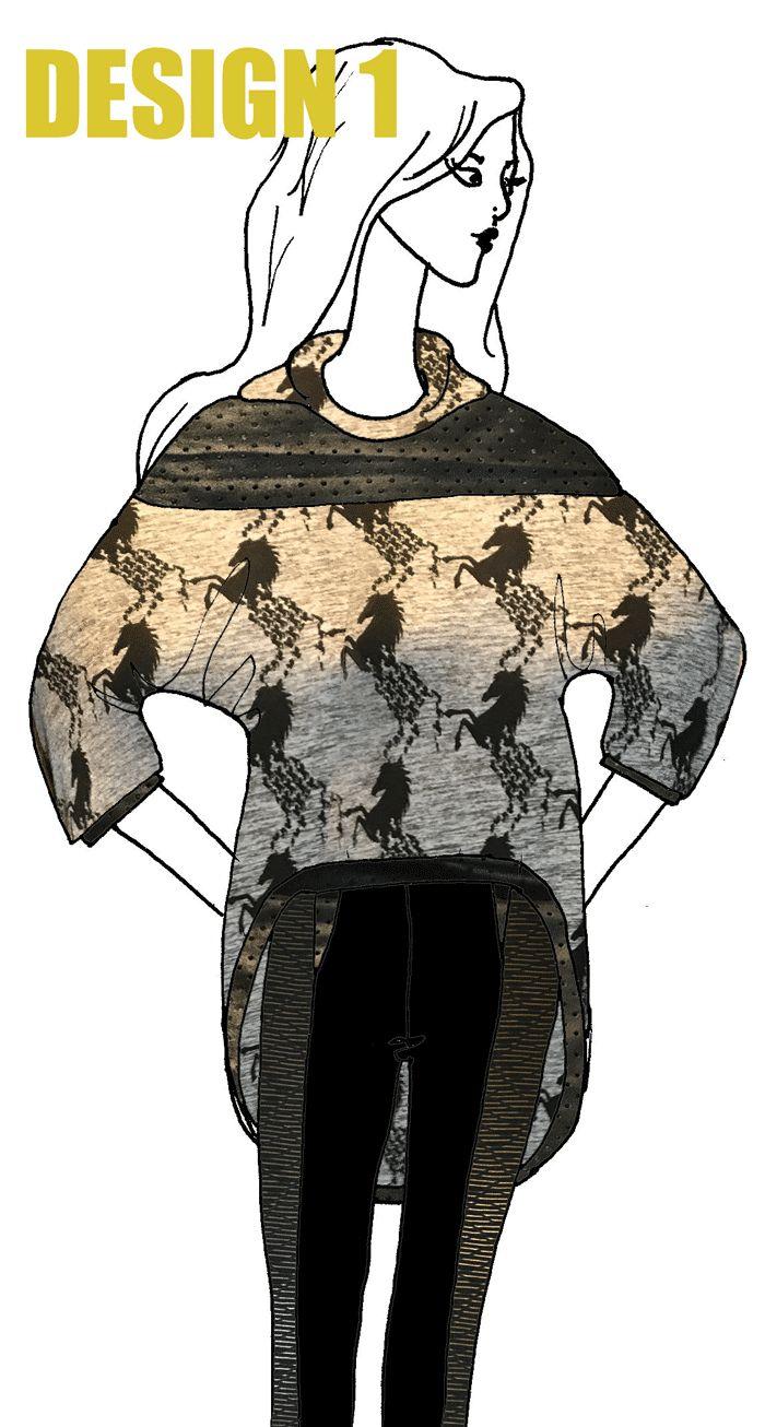 Design 1 in the athleisure wear design challenge on www.duellingdesig... Vote for your favourite.