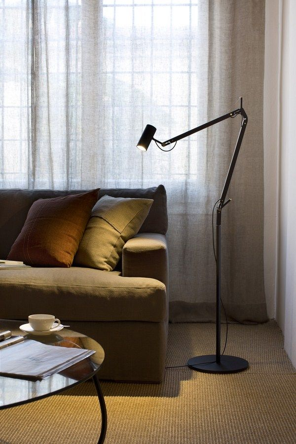 Marset - Polo LED Floor lamp, available in a table version as well. Contact Morlen Sinoway Atelier, 312.432.0100 or www.morlensinoway.com for pricing!