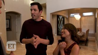 The Property Brothers Jonathan Scott and Drew Scott stay connected. As the stars of HGTV's most popular series, Property Brothers,Drew and Jonathan Scott, 38, have spinoff shows, a bestselling book (their second, It Takes Two: Our Story, comes out Sept. 5), their own production company and a collection