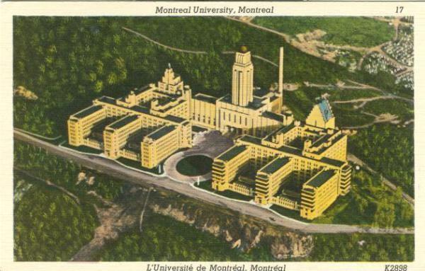 Montreal University   L'Universite de Montreal