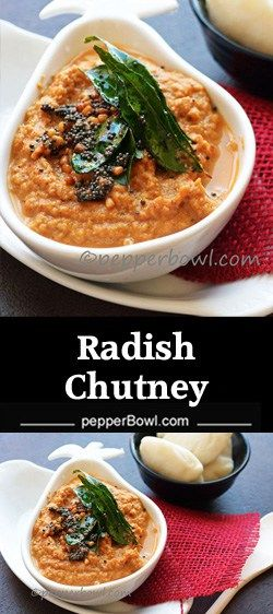 This Radish chutney Recipe is easier to make, healthy, tastes great a perfect condiment for breakfast dishes or can be served as a dip for the appetizers.