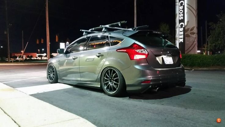 Ford Focus Mk3 Black Rims Ford Focus St Tuning Ford