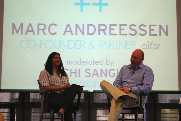 Marc Andreessen: the world would be much better if we had 50 more Silicon Valleys