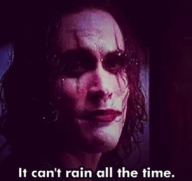 It can't rain all.the time | Famous quotes | Pinterest