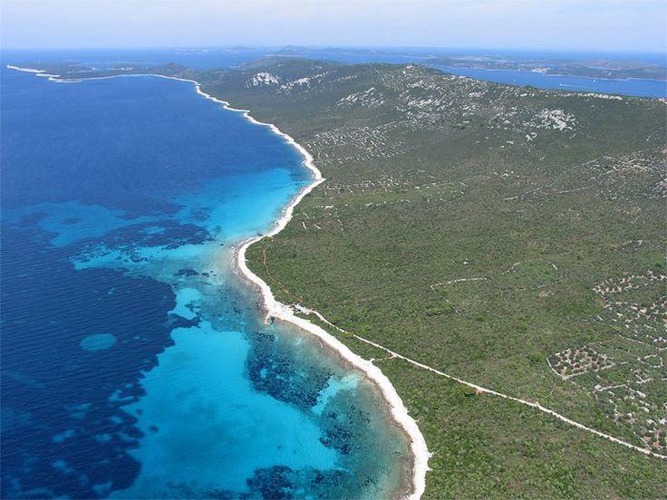 #beach #veli_žal #dragove #dugi_otok #dalmatia #croatia