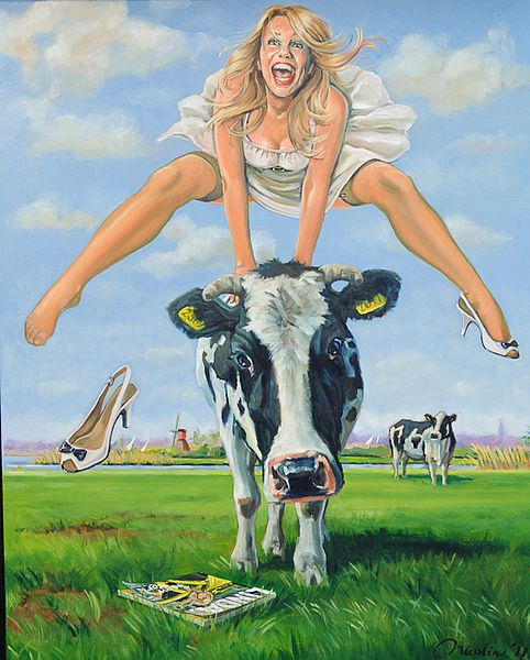 Schilderij Linda de Mol