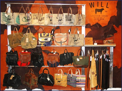 Will Leather Goods concept shop at Ron Herman Melrose