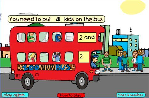 Counting & NumberMaths Zone - Free Cool Learning Games for School