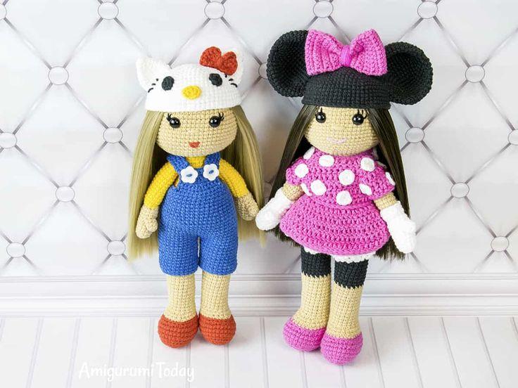Tutorial Angioletto Amigurumi : Best a dolls images amigurumi doll crochet