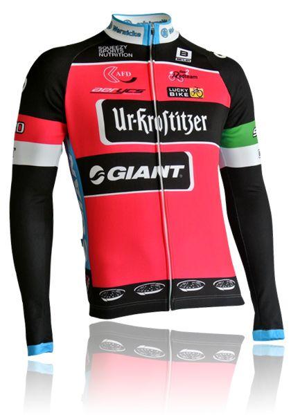 BIEHLER langarm Radtrikot RaceLine Ur-Krostitzer Giant 2016 kaufen | Biehler Sportswear - Made in Germany - Onlineshop