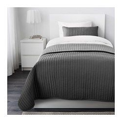 IKEA - KARIT, Bedspread and 2 cushion covers, Queen