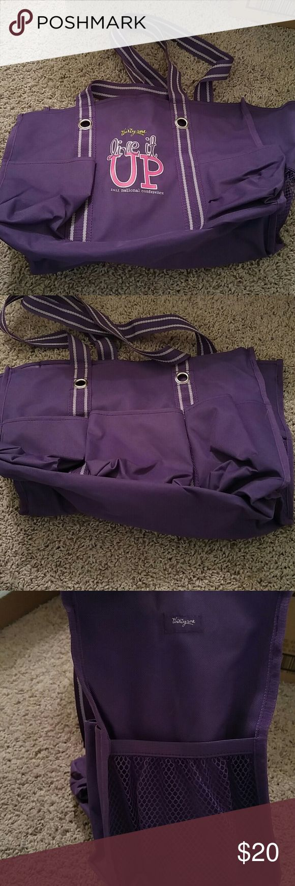 Selling this Thirty One organizing utility tote on Poshmark! My username is: mtucke09. #shopmycloset #poshmark #fashion #shopping #style #forsale #Thirty One #Handbags
