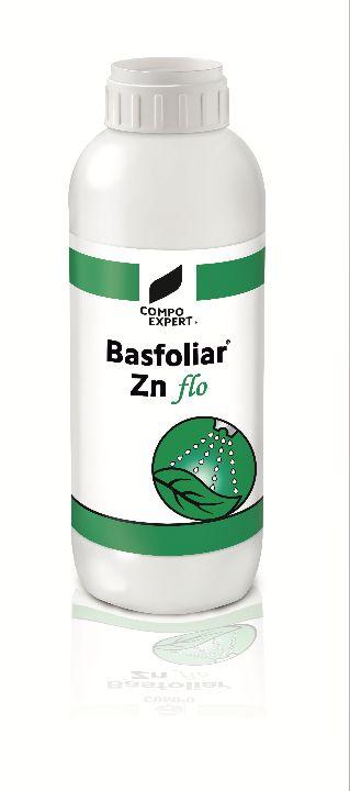 Προϊόν θρέψης με υψηλή συγκέντρωση ψευδαργύρου 75%  Δοσολογία : 40 - 80 ml/στρ  Για την πρόληψη και την αντιμετώπιση των ελλείψεων ψευδαργύρου. Το Basfoliar Zn flo βοηθάει στη δημιουργία αυξινών και στη διαφοροποίηση οφθαλμών σε όλες τις καλλιέργειες.  Ιδανικό για διαφυλλική εφαρμογή   Συσκευασία: 12 x 1 λίτρα
