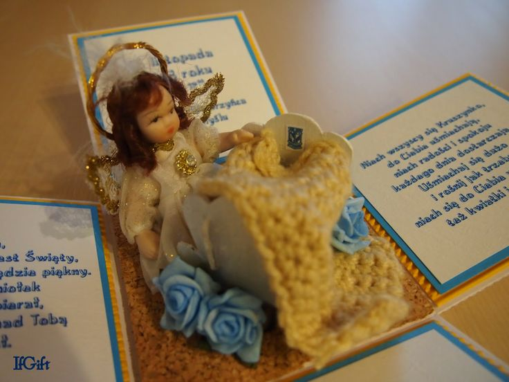 IfGift...: box for baptism boy (with Lech Poznan)