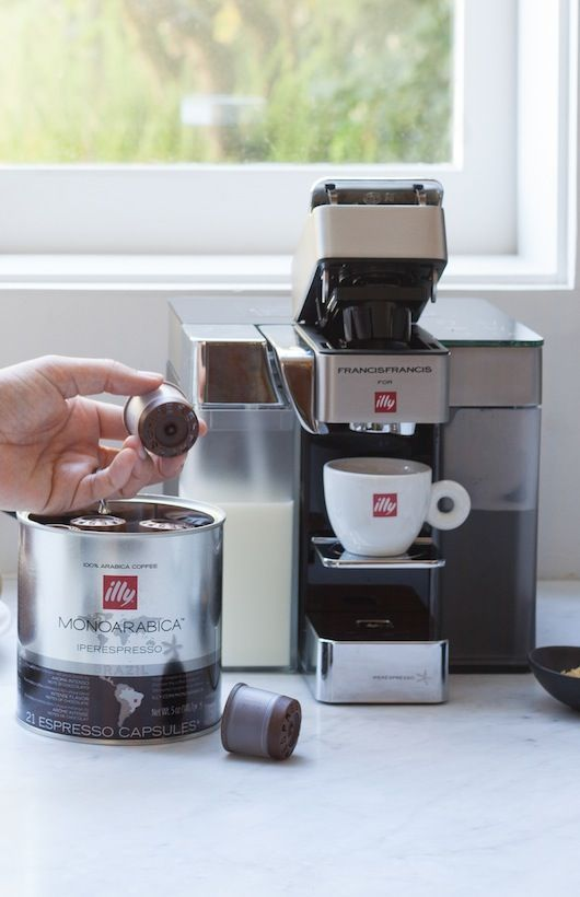 Introducing the NEW Y5 Milk, Espresso & Coffee Machine. Makes six cafe quality beverages--all at a single touch, from a single machine. Available on our e-shop: shop.illy.com/online/store/home_us.