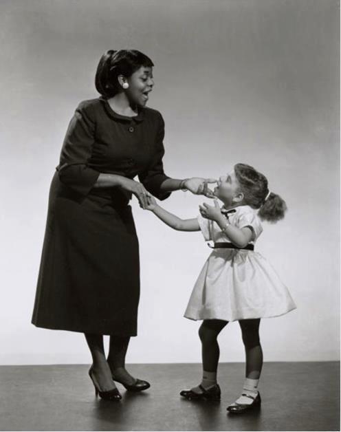 Dinah Washington & Goddaughter Patti