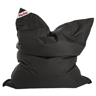 Big Bag Brava Bean Bag Chair Upholstery: Black - http://delanico.com/bean-bag-chairs/big-bag-brava-bean-bag-chair-upholstery-black-641177715/