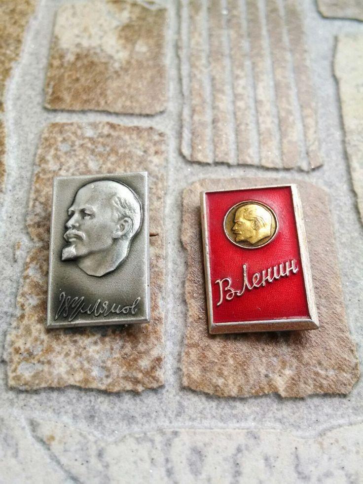Lenin - Soviet pin badges - vintage soviet USSR pin badge CCCP- Communist propaganda-Soviet union pins,USSR by PinBadges on Etsy