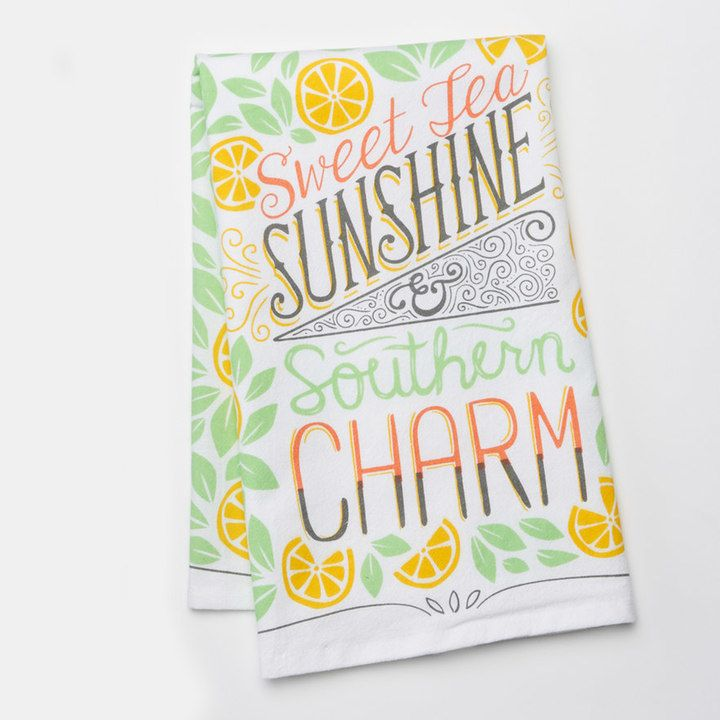 Celebrate Local Life Together Southern Charm Kitchen Towel