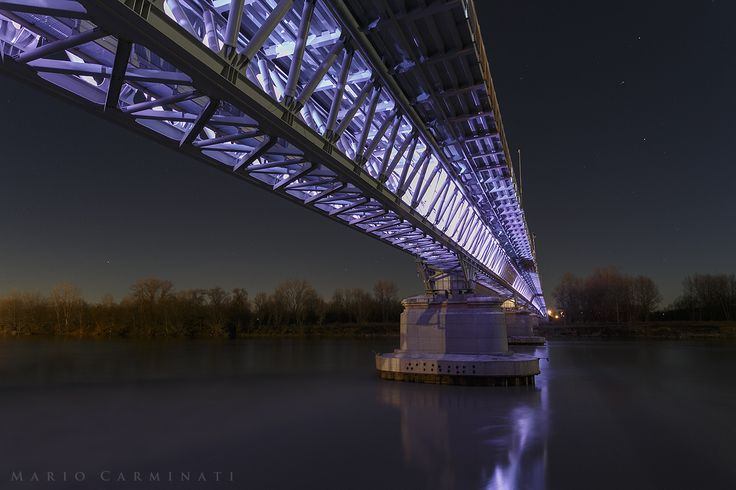 Ponte sul Po by Mario Carminati on 500px