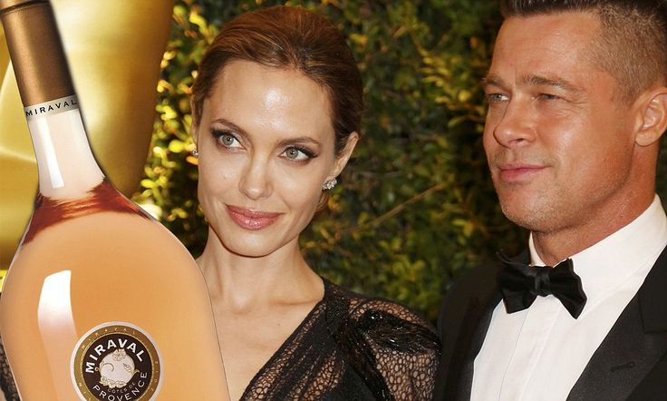 Wine developed by Angelina and Brad is named 'Best Rose in the World'