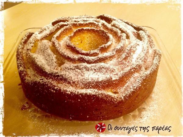 Μυρωδάτο κέικ με ελαιόλαδο και πορτοκάλι #sintagespareas