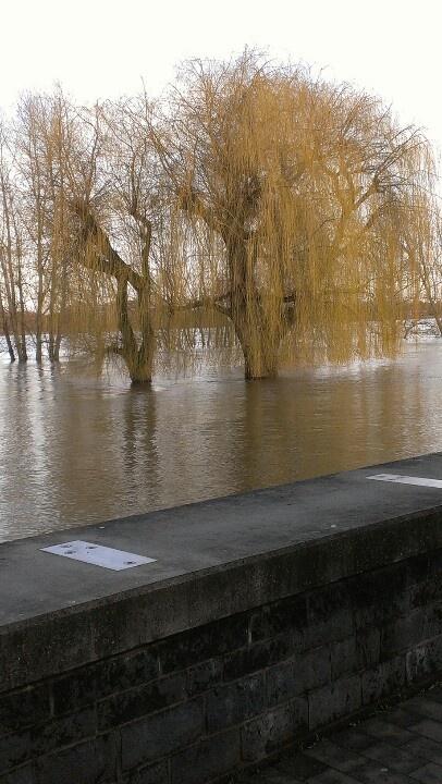 Hochwasser im Januar