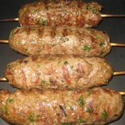 BBQ Lamb Kofta Kebabs @ allrecipes.co.uk