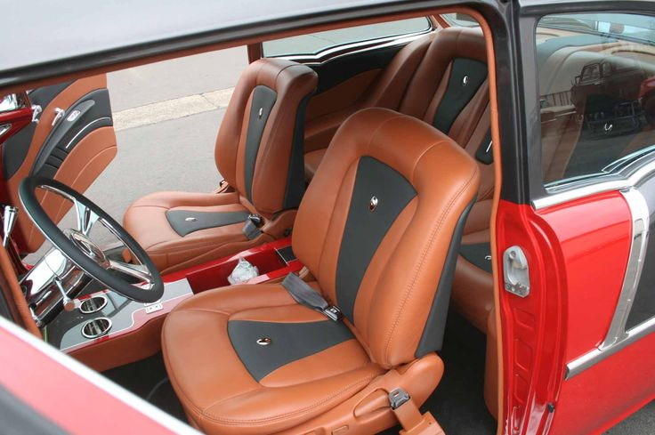 41 best images about custom leather auto interiors hot for Custom automotive interior designs