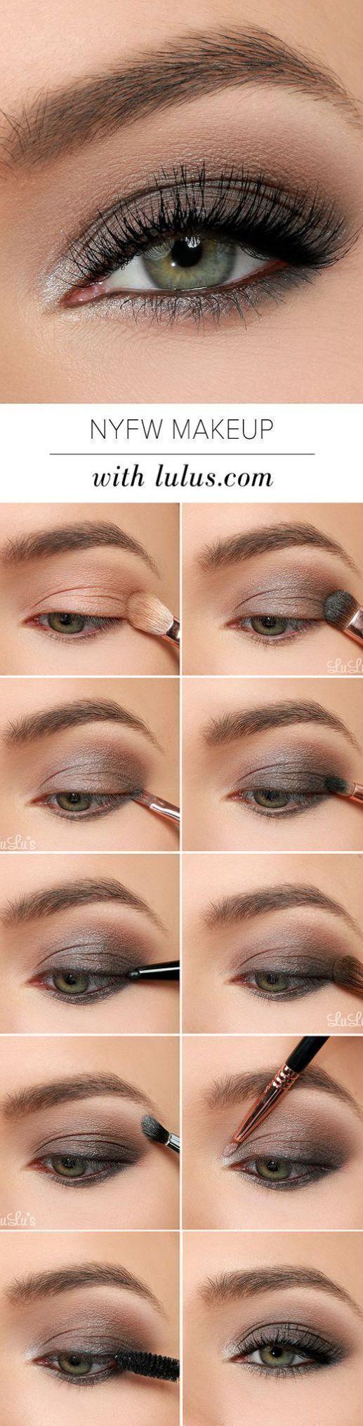 15 Step-By-Step Smoky Eye Makeup Tutorials for Beginners #eyemakeupforbeginners #hoodedeyemakeup