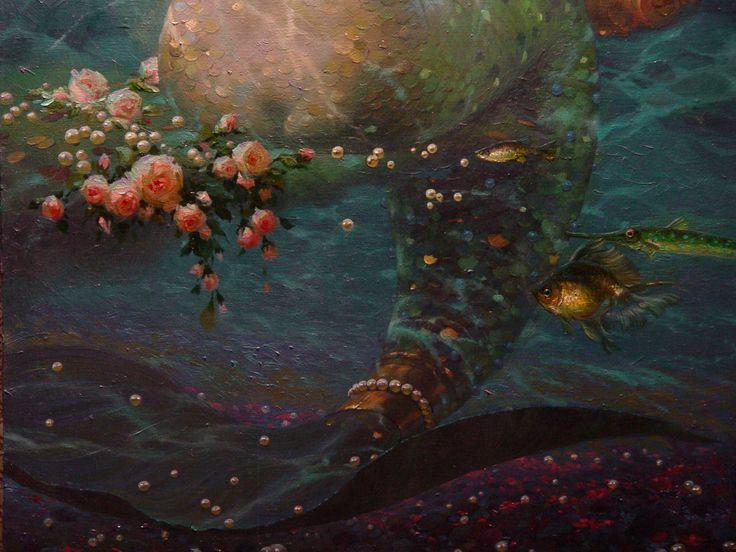 Mermaid By Victor Nizovtsev Kid Rooms Pinterest