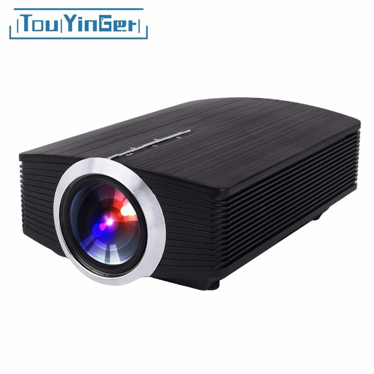 Touyinger T2A Mini LCD Projector YG510 Full HD Video Portable LED Home Theater projetor videoprojecteur cinema beamer Mirroring