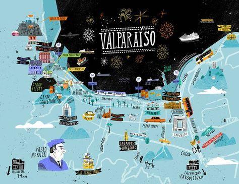 Valparaiso Map - OYEMATHIAS