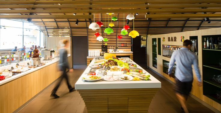 Colmar by Minale Design Strategy - Interior Design - Buffet and bar - Self-service