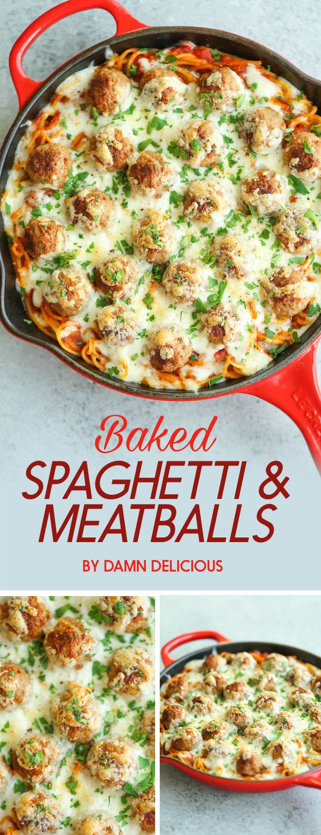 Baked Spaghetti and Meatballs | 7 Tasty Dinners To Eat This Week