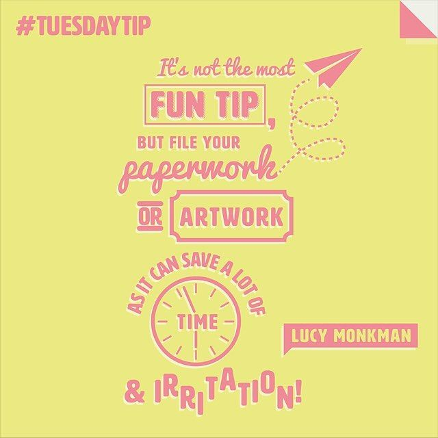 Lucy Monkman keeps it simple and real when it comes to the bare basics of designing. #TuesdayTip #illustration #typography #lettering #illustrator #design