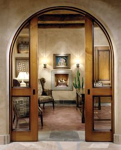 arched pocket french doors - Google Search