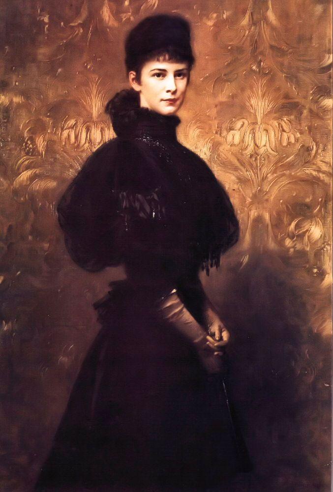 Empress Elisabeth of Austria by Benczur Guyla