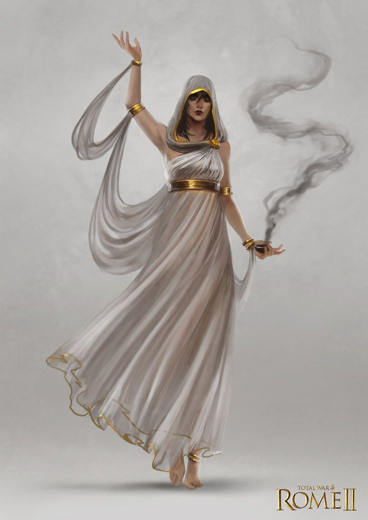 Total War: Rome II - Oracle Concept Art by telthona on DeviantArt #cleric