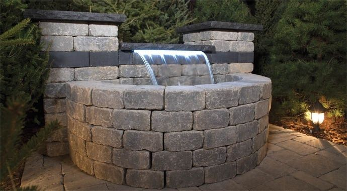 Stone Oasis Collection: Waterfall Kit | barkman | barkman