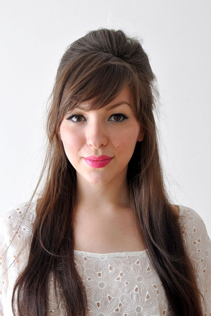 Hairstyles For Women Long Hair 25 Best Ideas About Bangs Long Hair On Pinterest Bangs Fringe