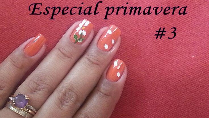 Unhas decoradas : especial primavera #3 #manicure #nailart