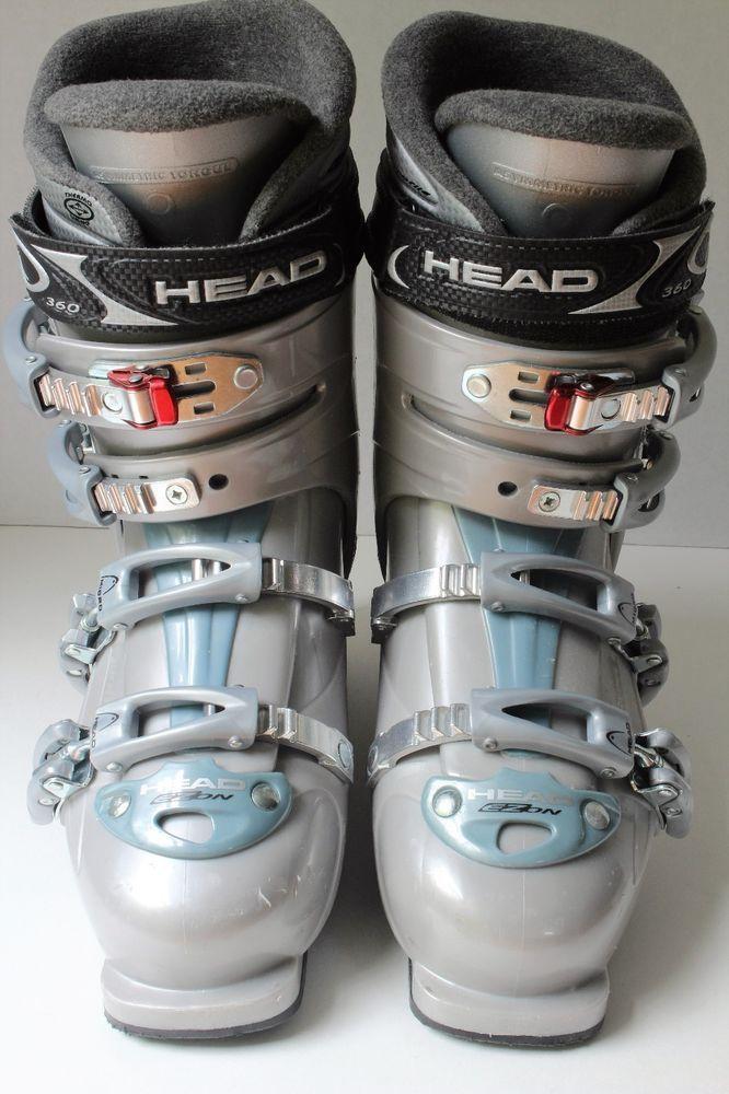 Head Downhill Ski Boots Women's Mondo 26.5 EZON 7.5 580DX 308mm U.S. 9 1/2 #Head