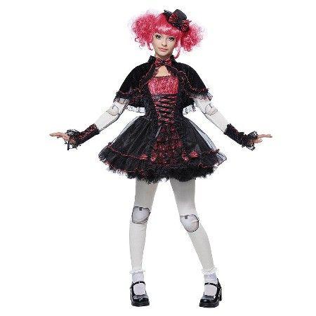 victorian doll kids costume black costume target teen - Popular Tween Halloween Costumes