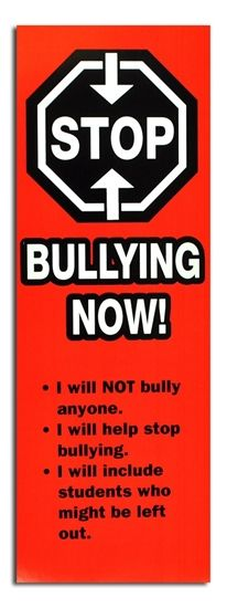 Anti-bullying Book Mark - On Sale - Discount Toys and Novelties