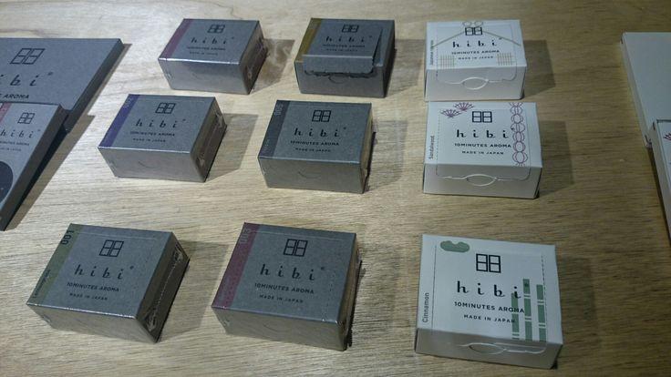地場産業「マッチ」と「お香」のコラボ商品 #hibi